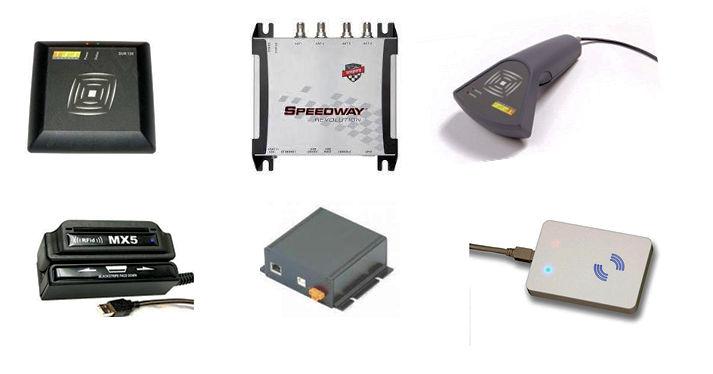 RFID-läsare - RFID-antenner - ALLA FREKVENSER