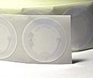 NTAG203 Rund 38mm vit sjävhäftande NFC etikett