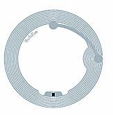 BullsEye cirkulär tagg för CD & DVD